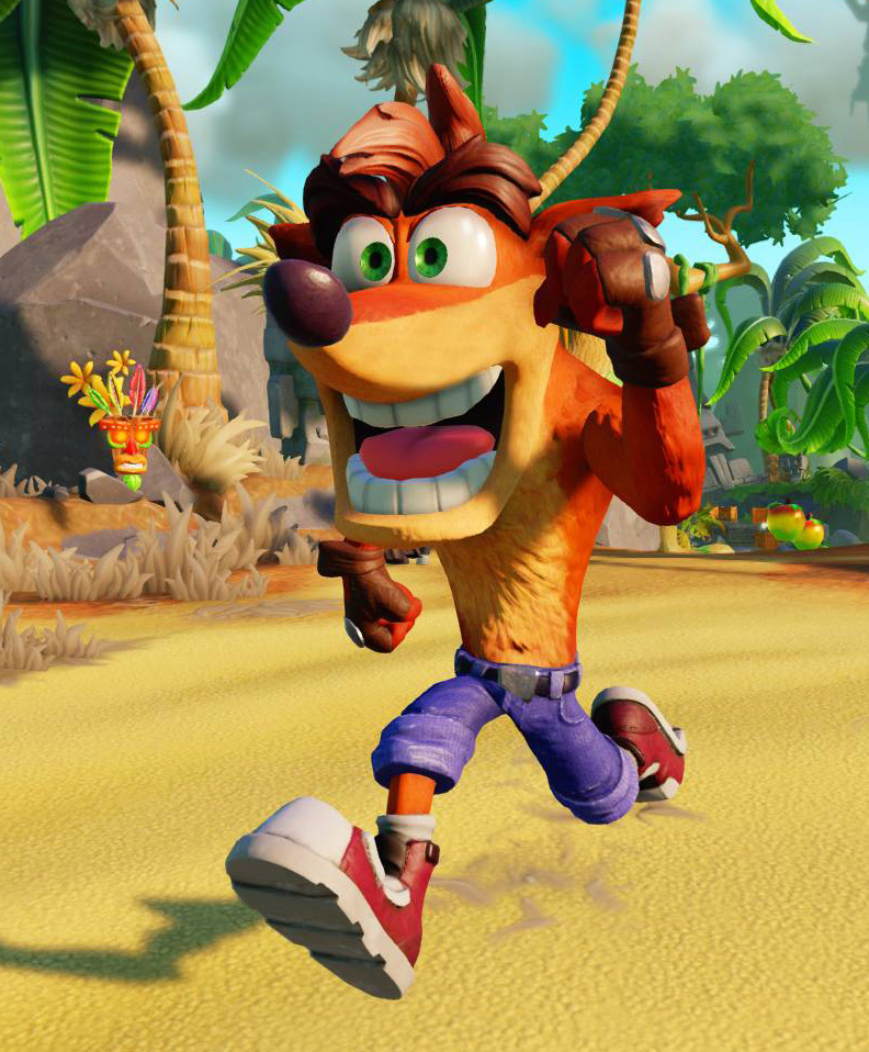 Crash as he will appear in Skylanders Imaginators.