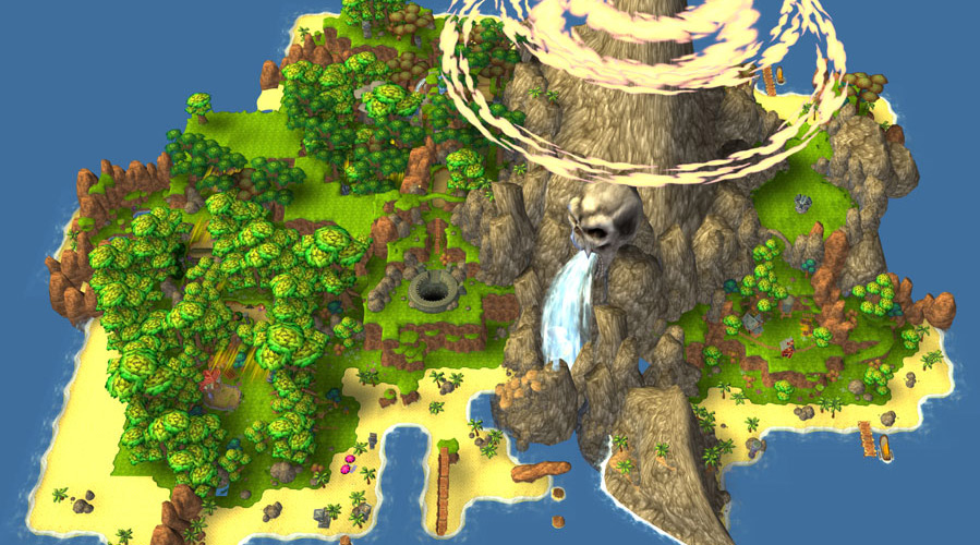 Linear vs open world crash mania blog the map of n sanity island gumiabroncs Images