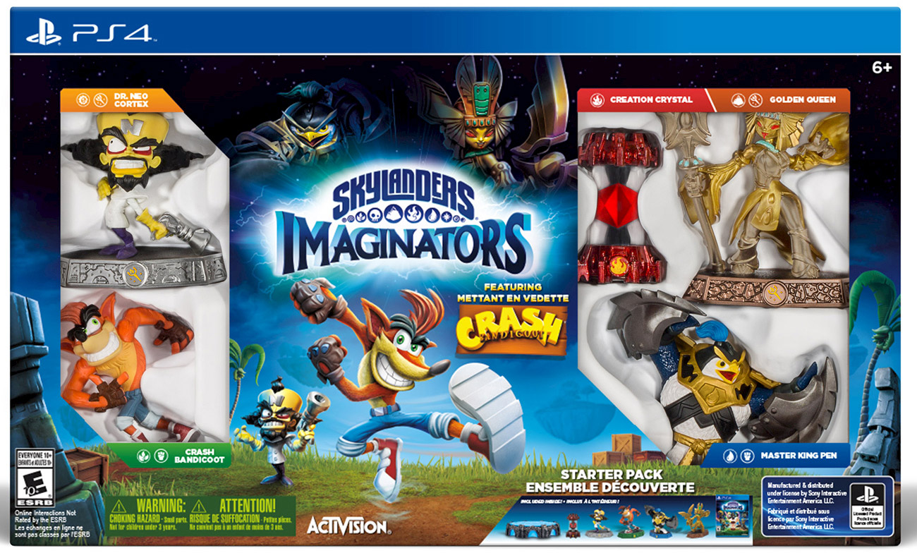 Dr. Neo Cortex joins Skylanders Imaginators as a playable character with his own figurine.