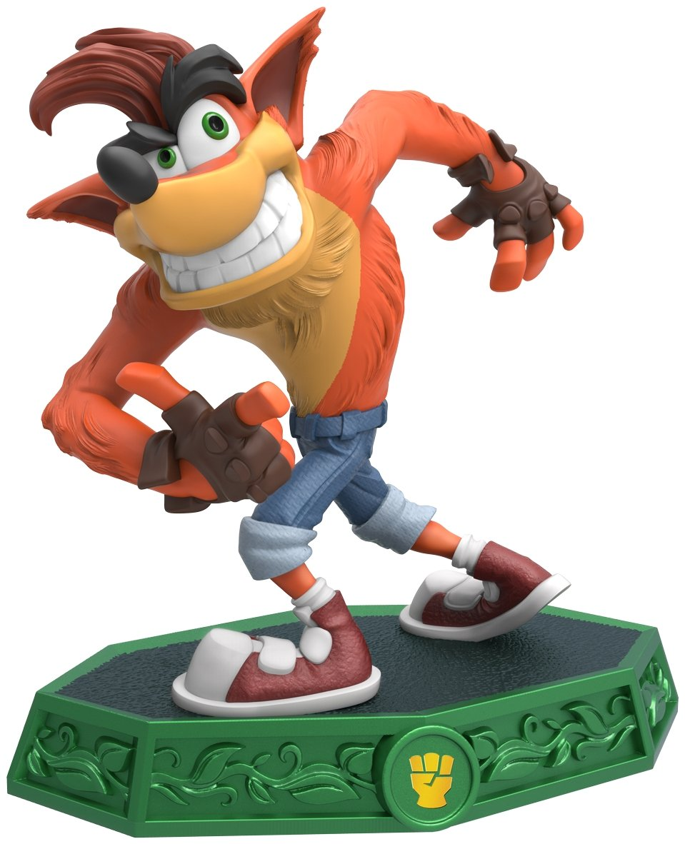 The Crash figure introduced in Skylanders Imaginators.