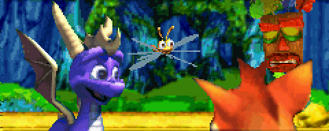 Crash and Spyro join forces.