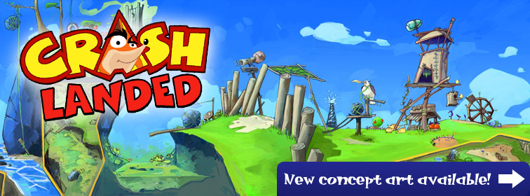 Crash Landed - New concept art available!