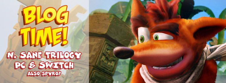 N. Sane Trilogy Coming to PC and Switch