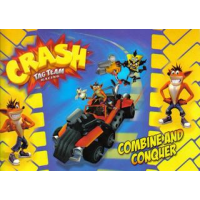 Crash Tag Team Racing Stickers