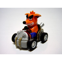 Japanese Crash and Fake Crash CTR Figurines