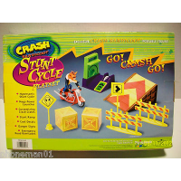 Stunt Cycle Playset