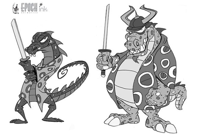 The Komodo Brothers' original designs.