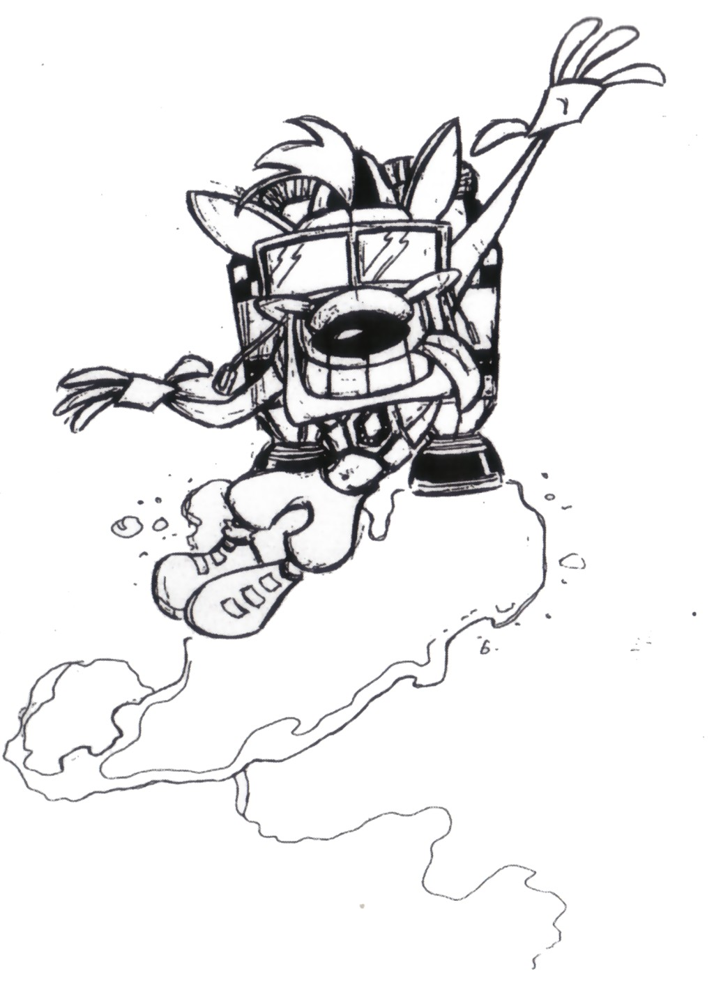 Crash Bandicoot 2 Cortex Strikes Back Characters Naughty