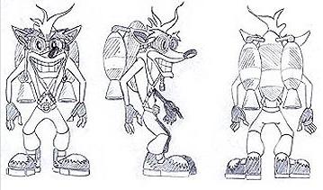 Crash Bandicoot: The Huge Adventure - Concept Art | Crash ...