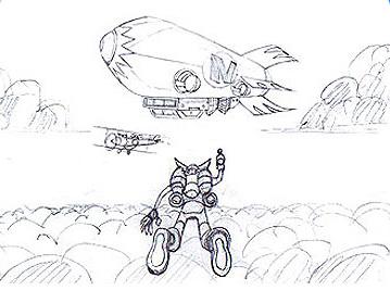 Crash Bandicoot The Huge Adventure Concept Art Crash
