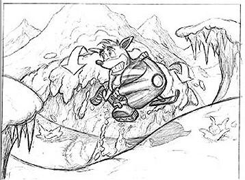 Crash Bandicoot: The Wrath of Cortex - Concept Art | Crash ...