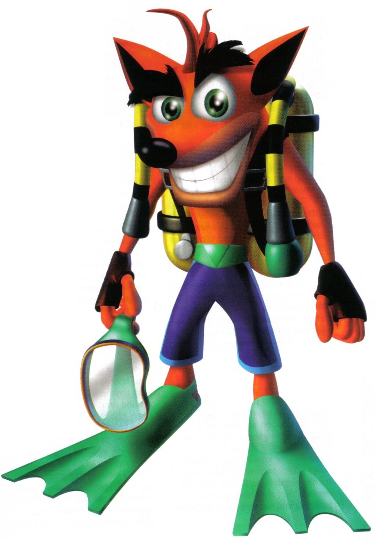 Crash Bandicoot Warped Character Renders Crash Mania