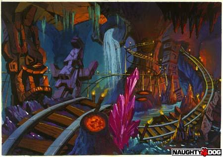 Crash Bandicoot - Environments (Naughty Dog web site ...