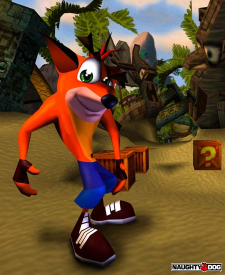 Crash Bandicoot Promotional Renders Crash Mania