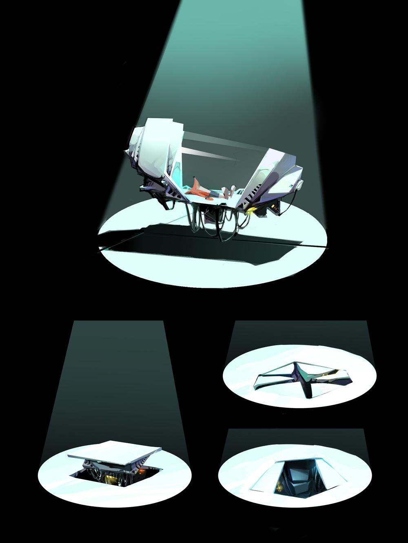 Crash Landed - Concept Art - Backgrounds | Crash Mania