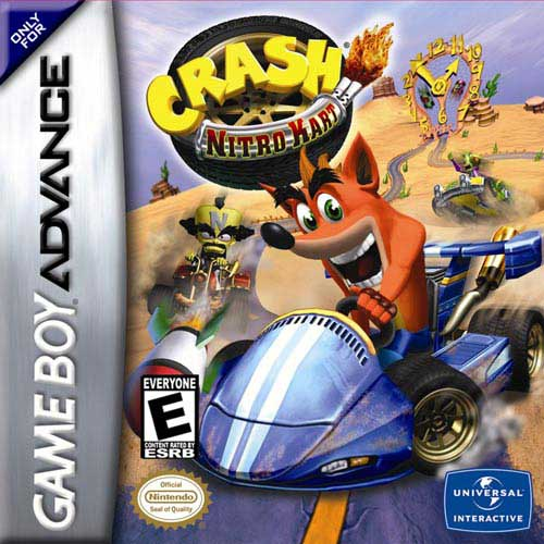 Crash Nitro Kart (consoles portables)
