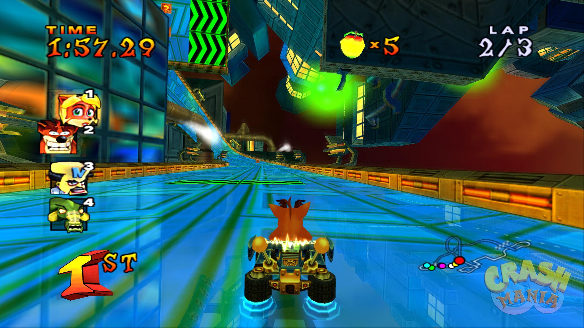 Crash Bandicoot Nitro Kart Android