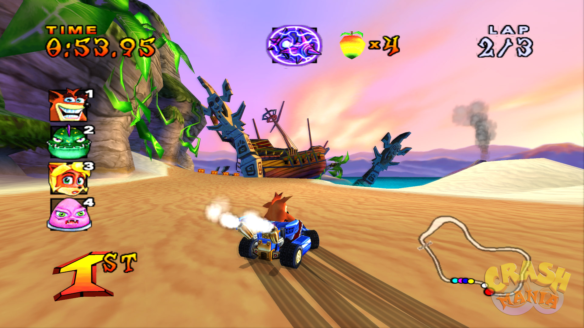 Crash Nitro Kart - Screenshots