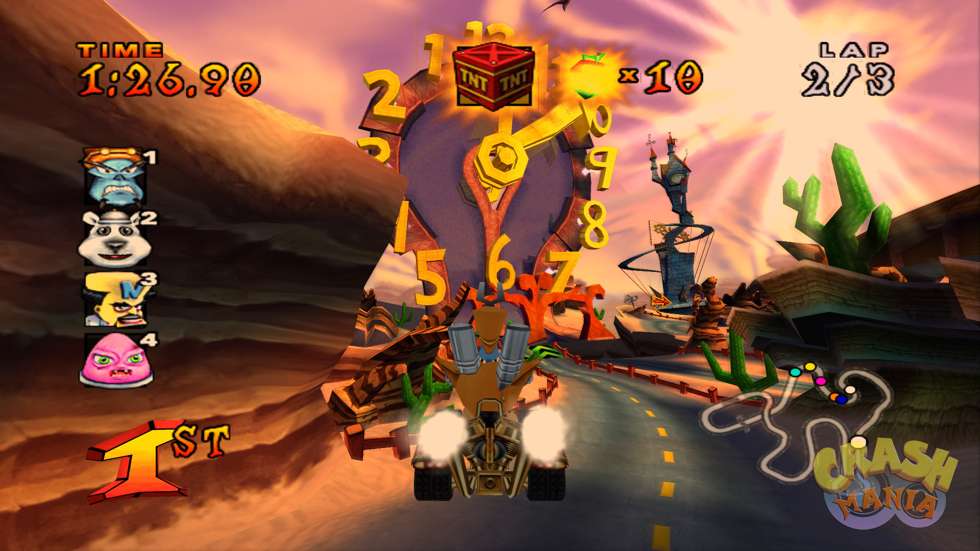 Crash Nitro Kart Screenshots Crash Mania