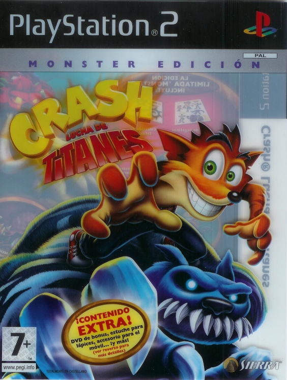 Crash of the Titans - Limited Editions | Crash Mania