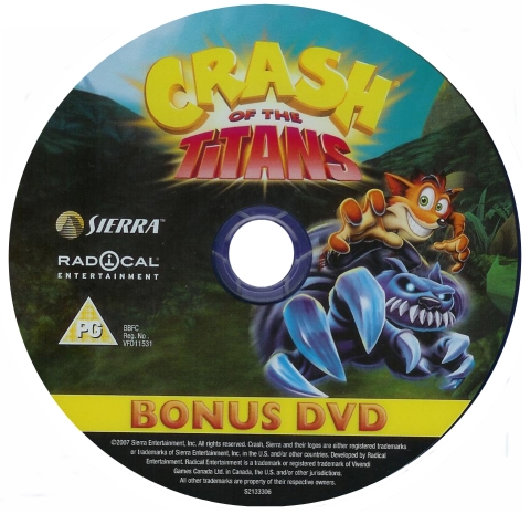 Crash Of The Titans Limited Editions Crash Mania