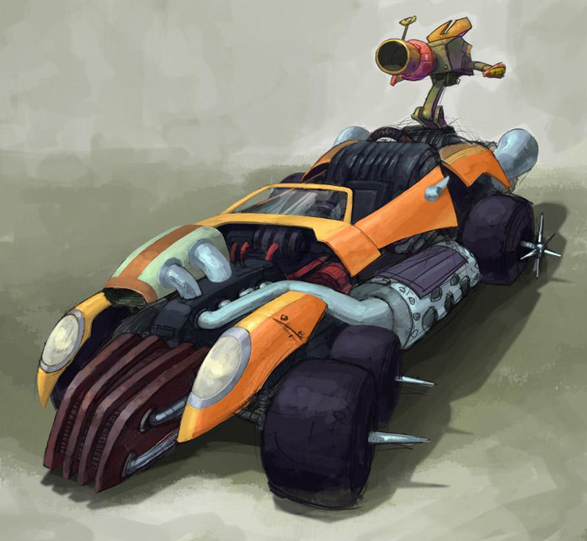 Crash Tag Team Racing - Artwork - Concept Art | Crash Mania