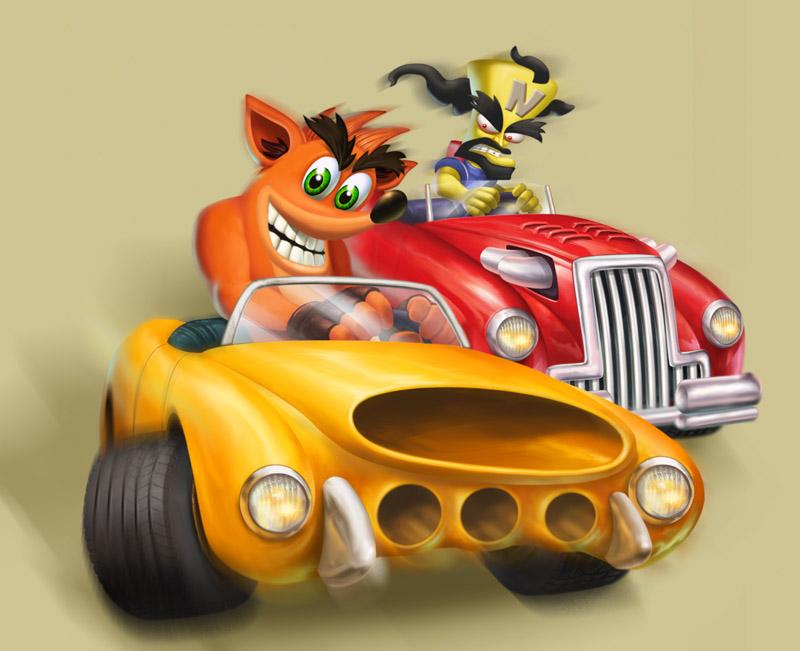 Crash Tag Team Racing - Promotional Images   Crash Mania