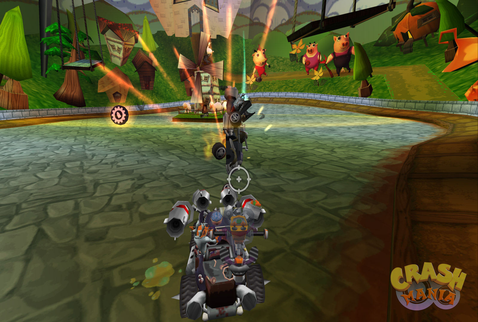 Car Driving Games >> Crash Tag Team Racing - Screenshots | Crash Mania