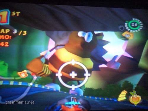 Crash Tag Team Racing - Track and the Beanstalk   Crash Mania