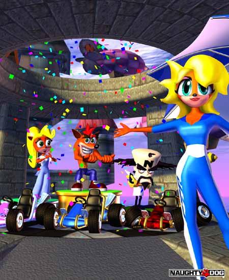 Crash Game Toy : Ctr crash team racing promotional images mania