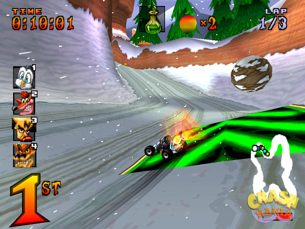 racing games crash