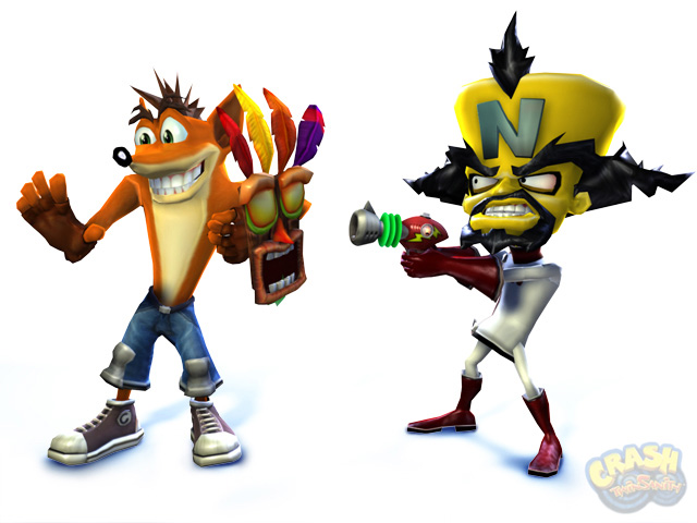 Nc Nielsen >> Crash Twinsanity - Promotional Images | Crash Mania