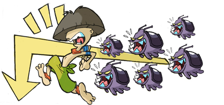 """Képtalálat a következőre: """"Crash Twinsanity Bug Run"""""""