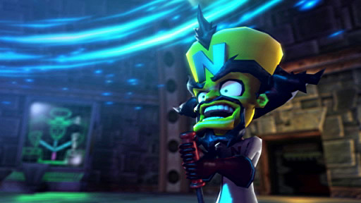 Dr. Neo Cortex at work.